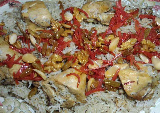 How to Prepare Gordon Ramsay Afghani chicken Pulao