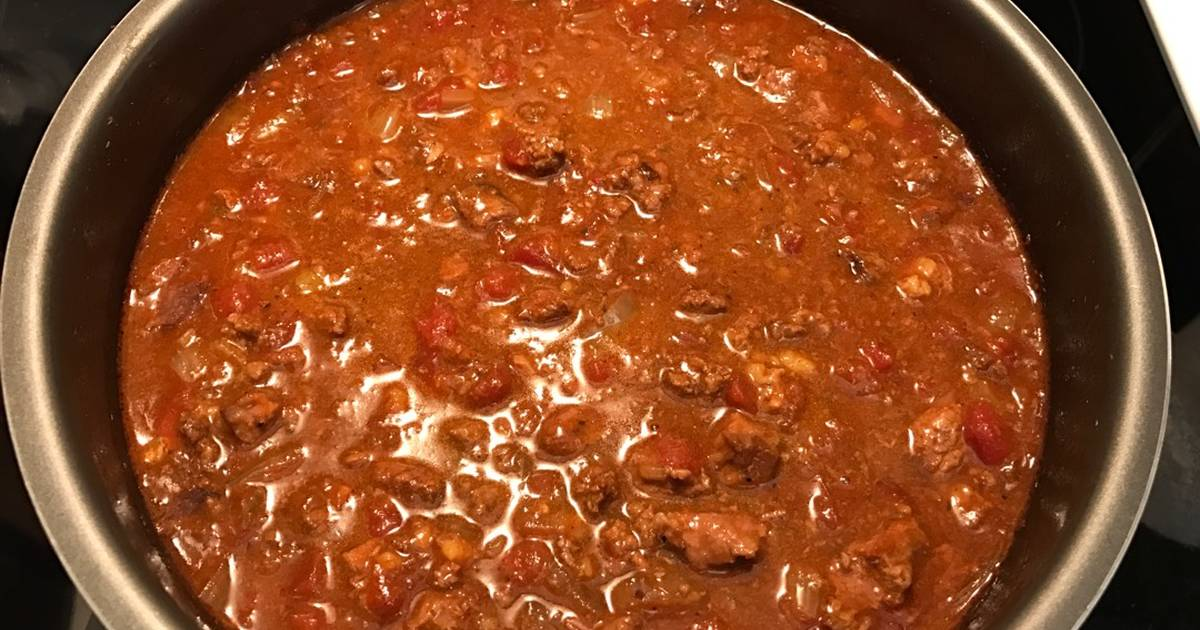 Simple & Easy Pressure Cooker Texas Style (beanless) Chili