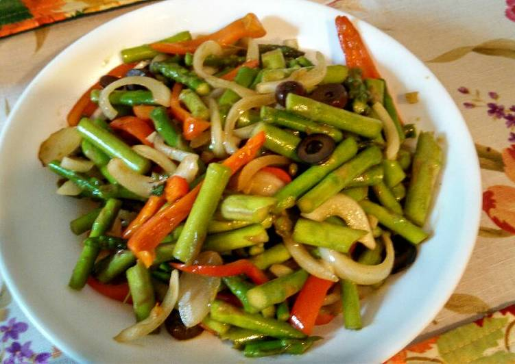 50+ Dinner Easy Refreshing Quick sauté: Asparagus 爆炒芦笋