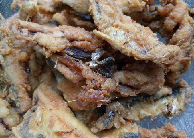 Ikan sarden crispy (ikan kocing)