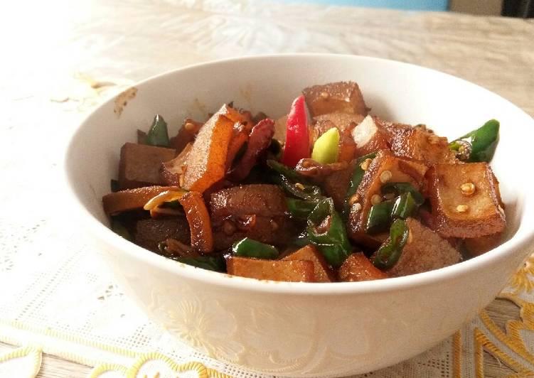 Tumis Kikil Sapi Pedas - cookandrecipe.com