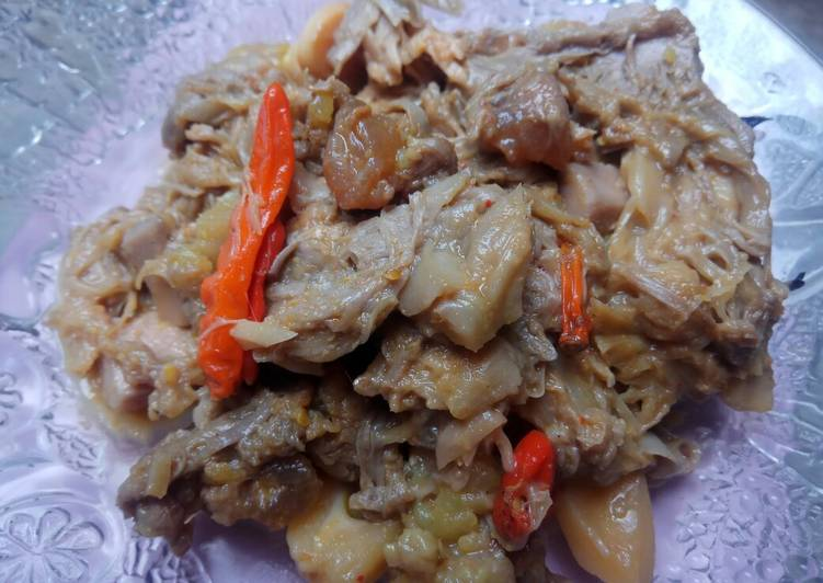 Gudeg Nangka Tetelan Sapi