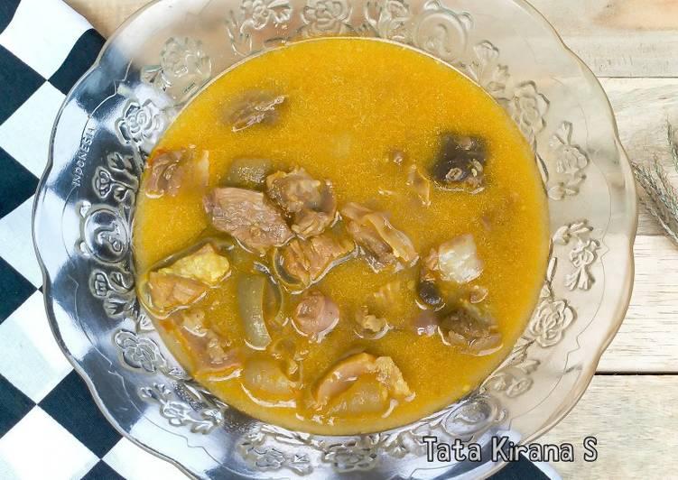 Gulai Daging Kambing (Gule)