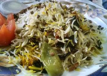 How to Recipe Perfect Qeema masoor pulao my favorite  cookpad