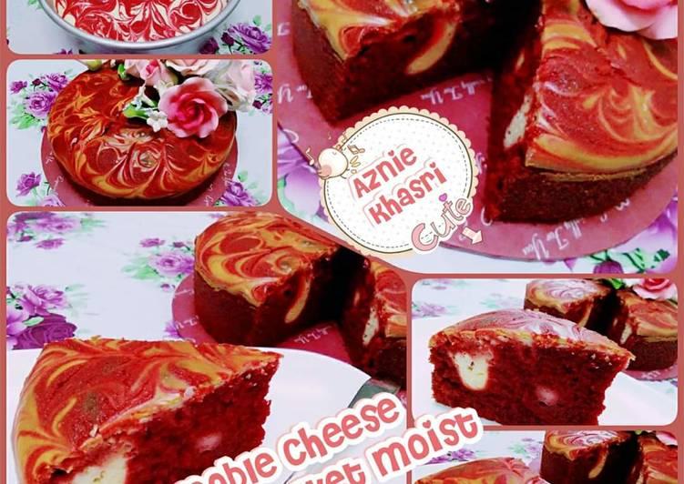 Mable cheese red velvet moist