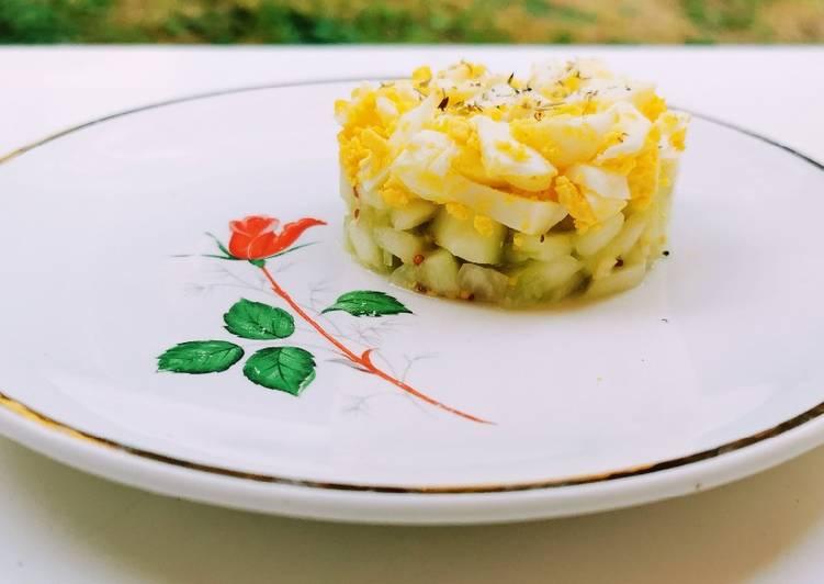 Comment Cuisiner Délicieux Tartare de concombre
