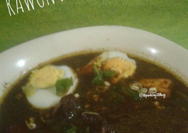 Resep Masakan Rawon Daging Sapi Khas Jawa Timur Spesial Untuk Keluarga Resep Masakan Nasi Goreng Kecap Soto Opor Ayam