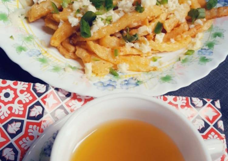 70+ Dinner Ideas Vegan Cheesy fries