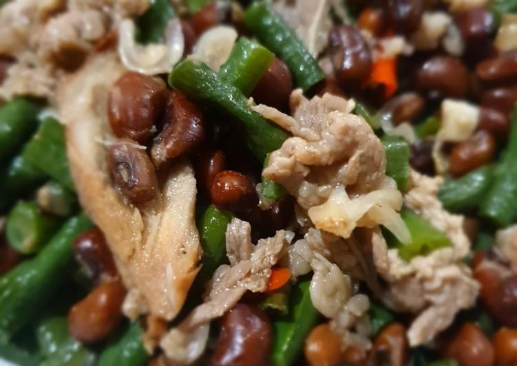 Cara Membuat Tumis Kacang Panjang dan Kacang Tolo enak dan mudah