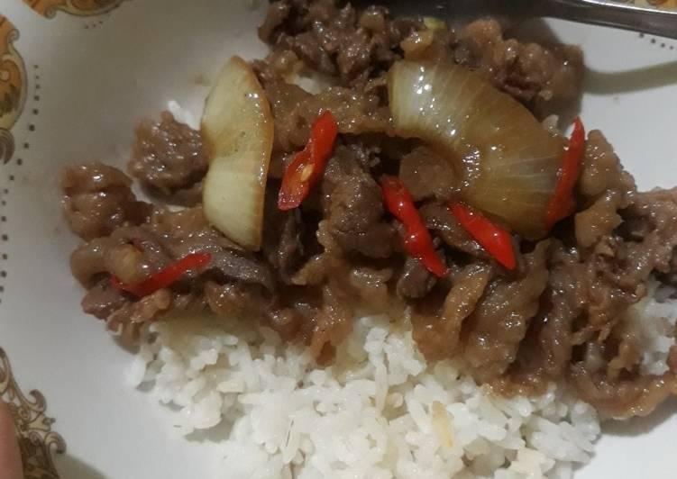 Beef blackpaper / Beef yakiniku SIMPLE ANTI GAGAL