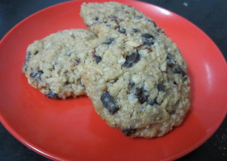 Oats and Apple cookies