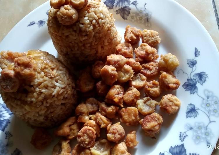 Resep Nasi Goreng Sosis (Sarapan simple untuk anak) Paling dicari