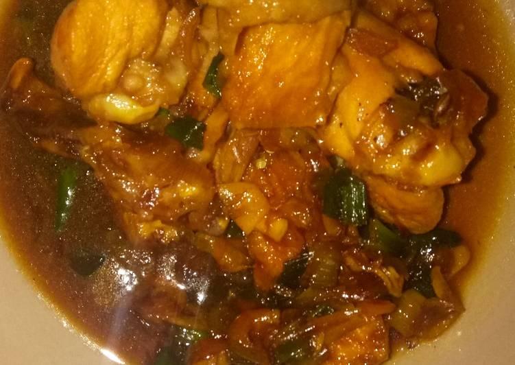 Resep Ayam Tahu Kecap Pedas Oleh Easy Cooking Cookpad
