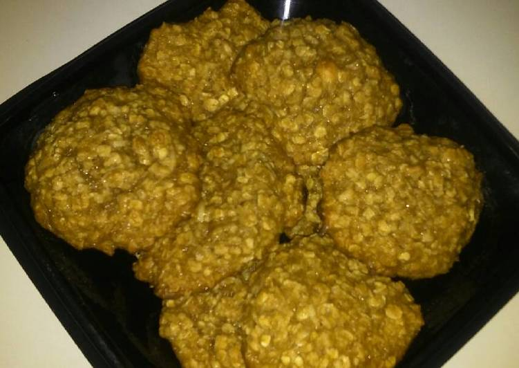 Oatmeal & Coconut Cookies