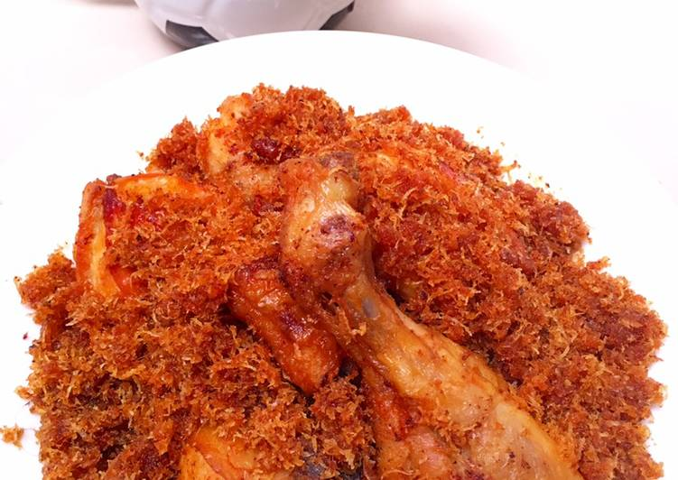 Ayam Goreng Serundeng Kelapa
