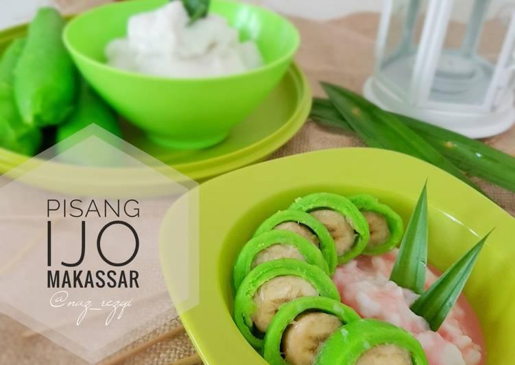 Pisang Ijo Makassar