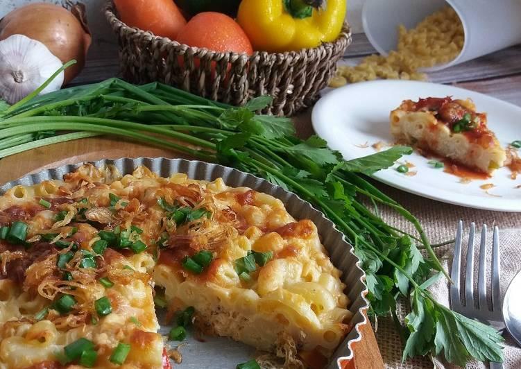 Resepi:  Makaroni Cheese Bakar #MunahMasak #Ayam  Terbaru