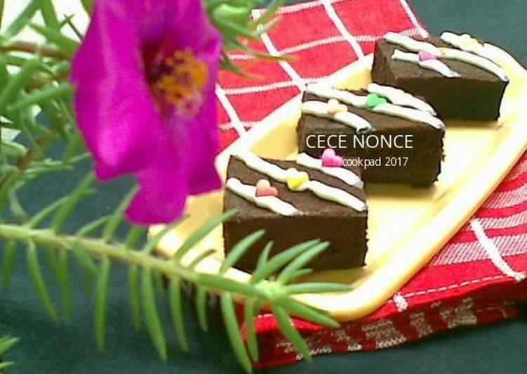 Brownies Klasik milo