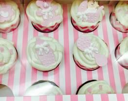 Cupcakes de bebé - Cupcakes para Candela