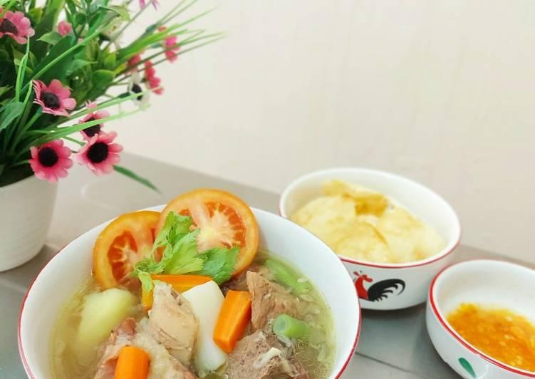 Sup Iga (Sapi)
