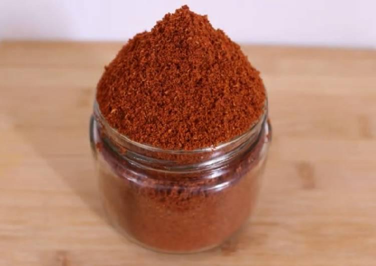 Recipe of Quick Sambar Powder
