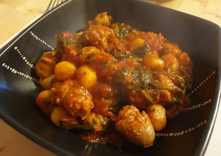 Recipe of Ultimate Sausage Gnocchi