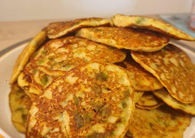 Pancake de légumes