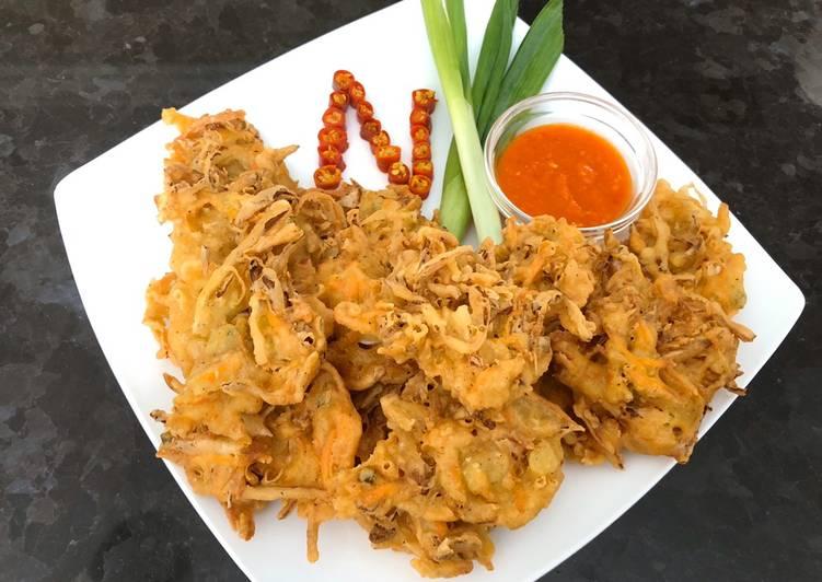 Vegetables Fritters (Indonesian Bala-Bala)
