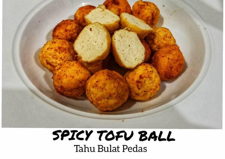 Spicy Tofu Ball_ Tahu Bulat Pedas - cookandrecipe.com