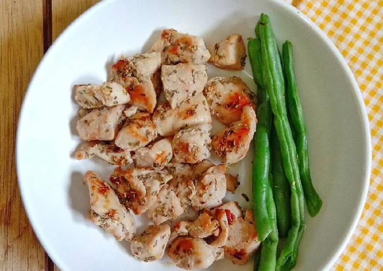 Resep Ayam Bumbu Simple Untuk Diet Paling Enak