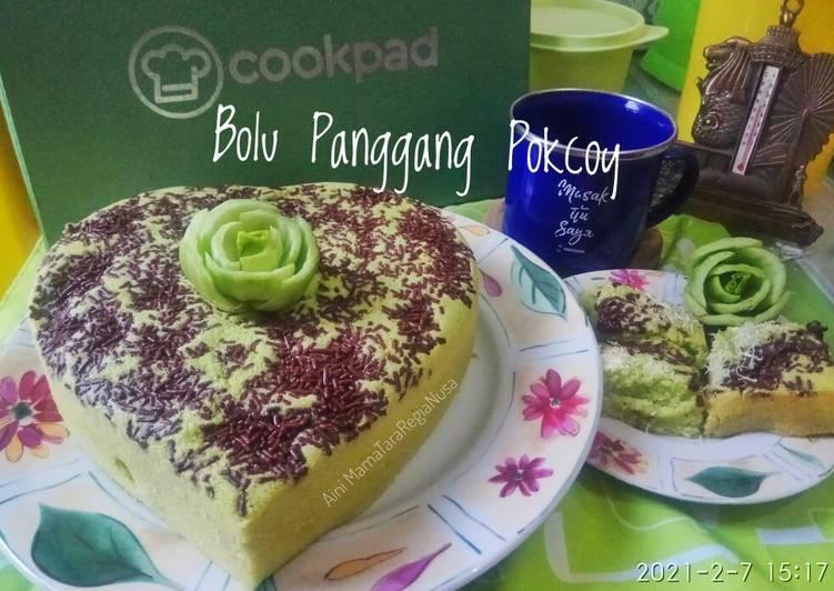 Bolu Panggang Pokcoy