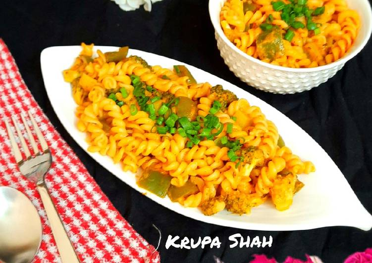 Easiest Way to Make Award-winning Fusilli pasta