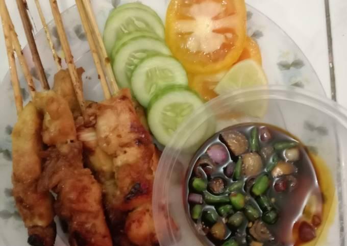Resep Part 4 : sate ayam teflon #menualaanakkos, Sempurna