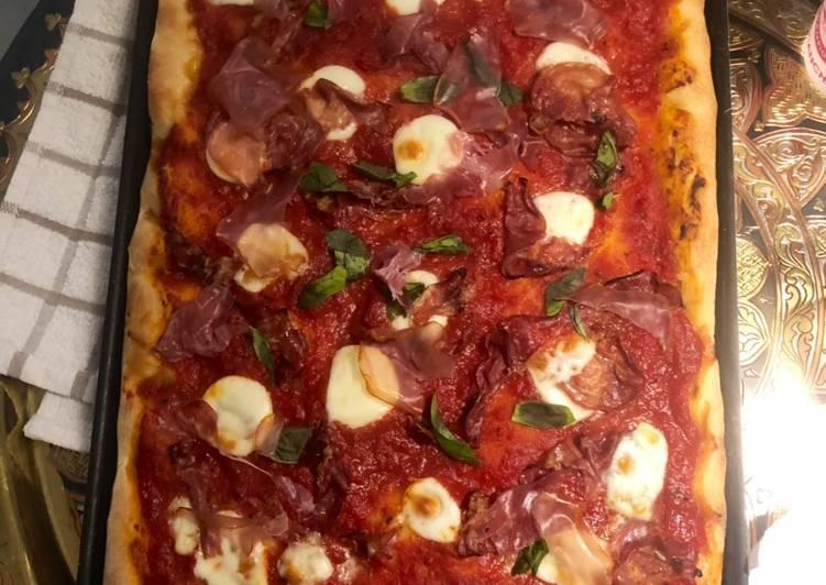 Facile Pas Cher  Pizza de la Nona de Sicile