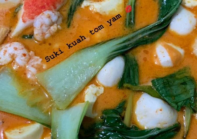 Suki kuah tom yam