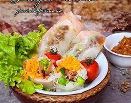 Lumpia Sayuran ala Lumpia Vietnam