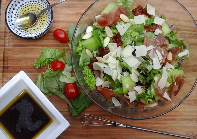 Cantaloupe Summer Salad