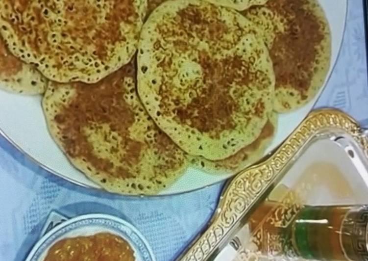 Crêpes marocaines au jus d'orange