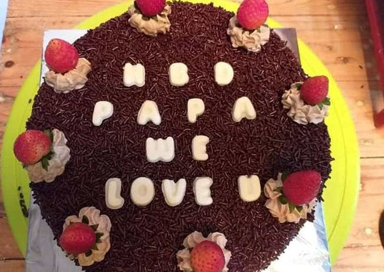 Resep: Sempurna Simple Birthday Cake