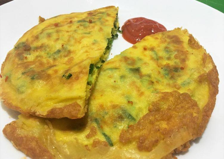 Martabak Telur Crispy Keju No MSG