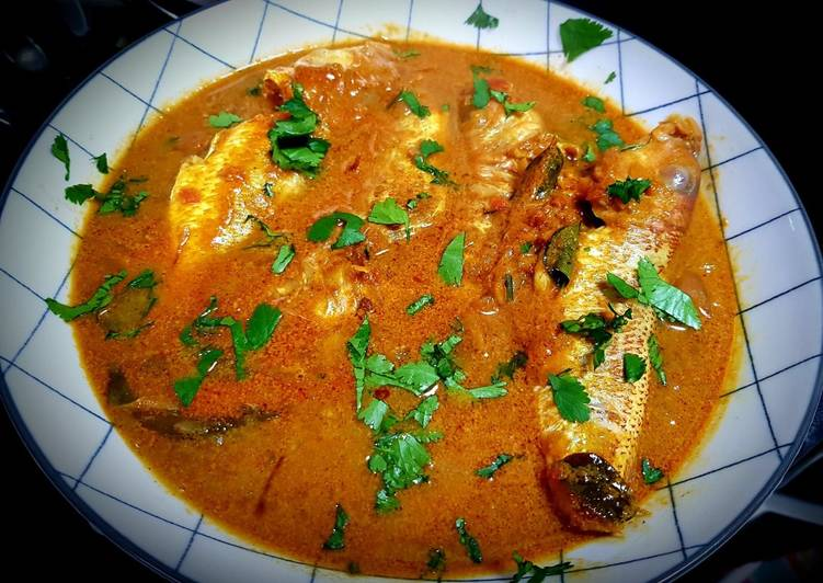 Cumin Red Snapper Fish curry Finding Healthful Fast Food