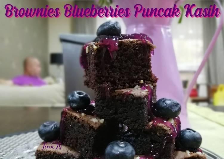 Brownies Blueberries Puncak Kasih #syedmunawwar