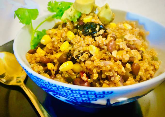 #HCC #Post_2 #Dish_Name_Mexican_Quinoa_Bowl