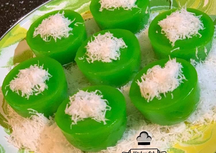 Kue Lumpang Ijo (Tanpa Tepung Beras dan Air Kapur)