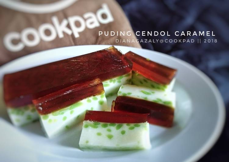 Puding Cendol Caramel