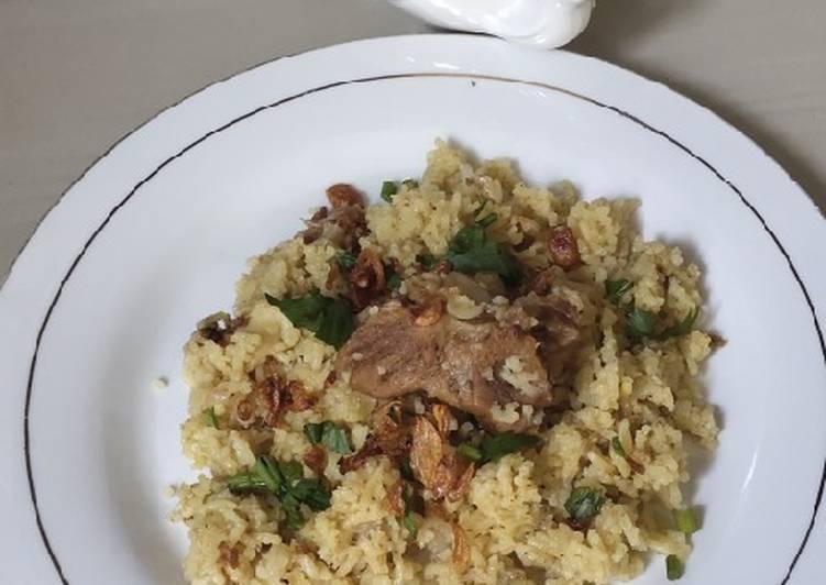 Nasi Briyani ala Sharira (instant)