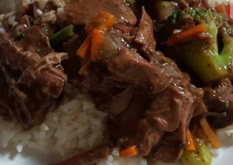 Simple Way to Make Speedy Sharon's slow cooker chuck roast
