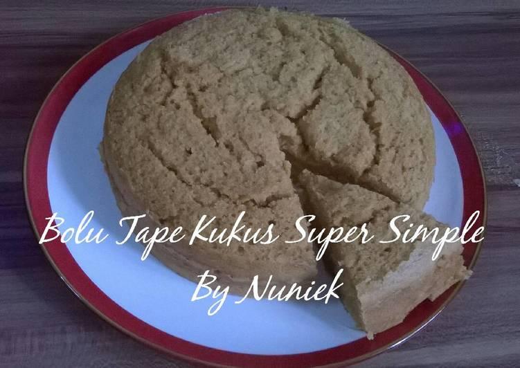 BOLU TAPE KUKUS SUPER SIMPLE (Tanpa Mixer, Tanpa Telur)