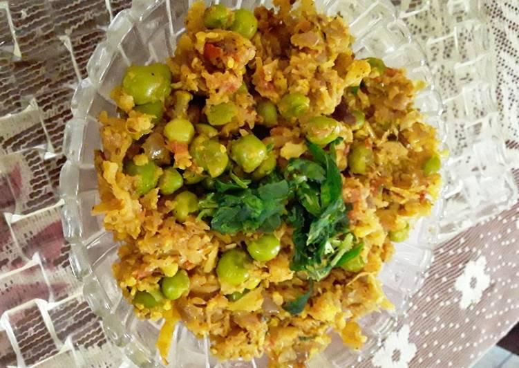 Cauliflower keema matar Finding Nutritious Fast Food