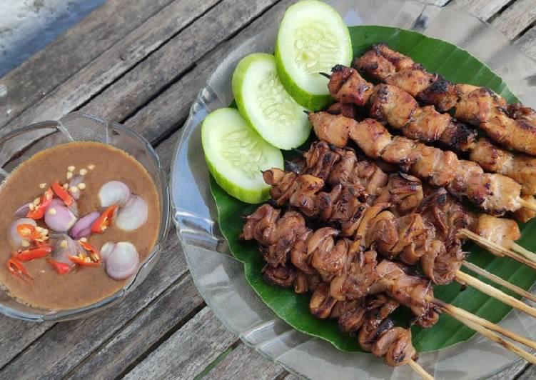 Sate Ayam Jamur Tiram